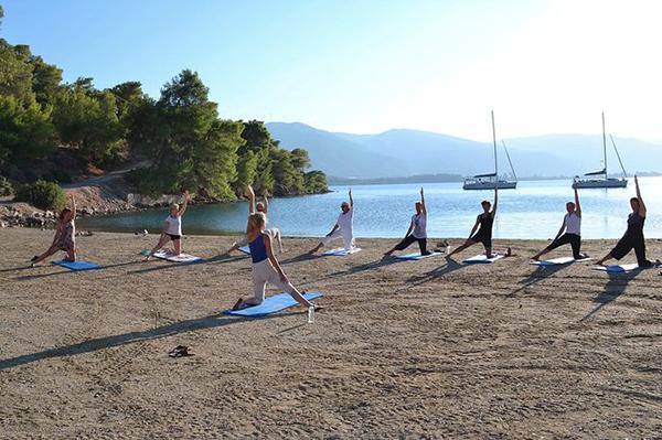 yoga vakantie griekendland strand